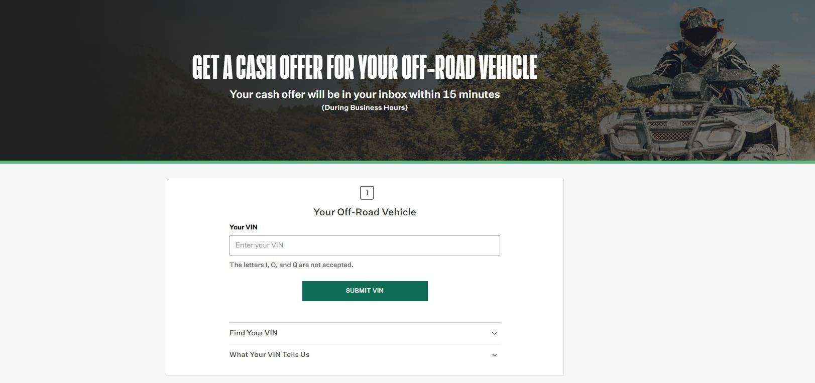 ATV Cash Offer
