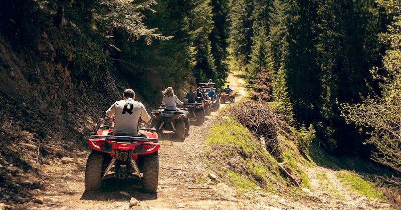 Off Road Trails in the Northwest
