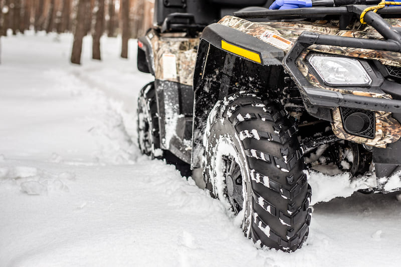 Winterize your ATV before you head out