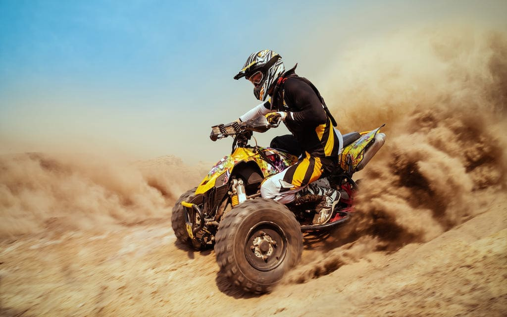 Stay cool while riding ATVs