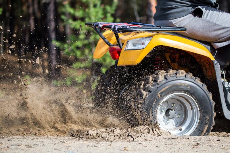 ATV braking tips
